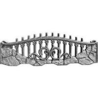 Еврозабор «Бут зубчастый Ажур»