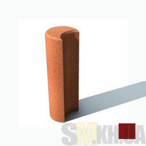 Столбик круглый (коричневый)