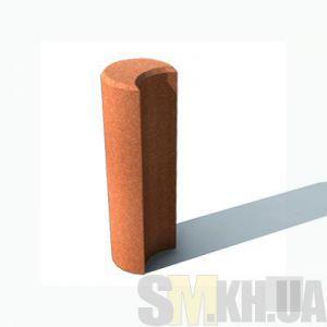 Столбик круглый (серый)