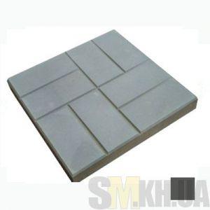 Тротуарная плитка «Паркет» черная вибролитая (кв.м)