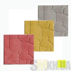 Тротуарная плитка «Песчаник» желтая вибролитая (кв.м)