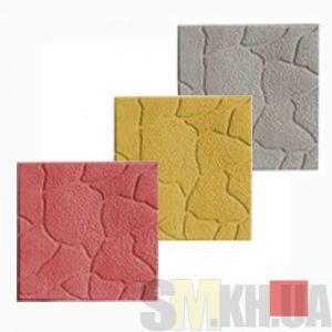 Тротуарная плитка «Песчаник» красная вибролитая (кв.м)