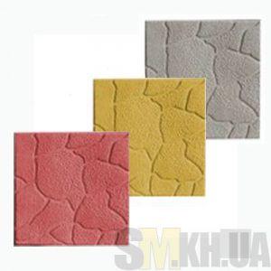 Тротуарная плитка «Песчаник» серая вибролитая (кв.м)