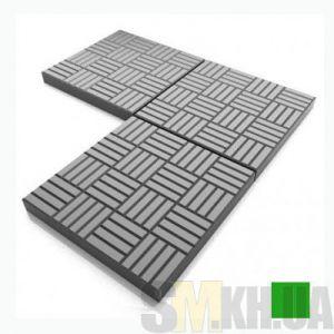 Тротуарная плитка «Печенье» зеленая вибролитая (кв.м)