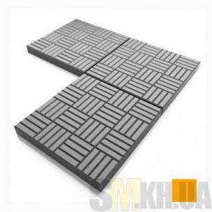 Тротуарная плитка «Печенье» оранжевая вибролитая (кв.м)