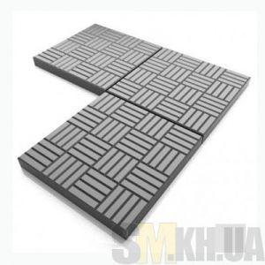 Тротуарная плитка «Печенье» серая вибролитая (кв.м)