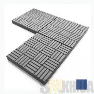 Тротуарная плитка «Печенье» синяя вибролитая (кв.м)