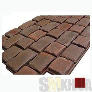 Тротуарная плитка «Средневековый камень» коричневая вибролитая (кв.м)