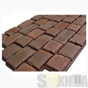 Тротуарная плитка «Средневековый камень» серая вибролитая (кв.м)