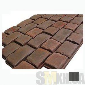 Тротуарная плитка «Средневековый камень» черная вибролитая (кв.м)