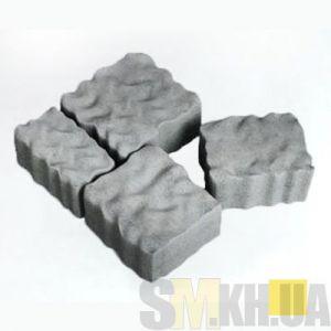 Тротуарная плитка сухопрессованная «Австрийский камень» персиковая 60 мм (кв.м)