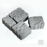 Тротуарная плитка сухопрессованная «Австрийский камень» серая 60 мм (кв.м)