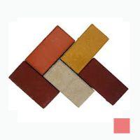 Тротуарная плитка сухопрессованная «Кирпич» красная 40 мм (кв.м)