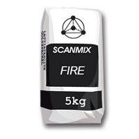 Кладочная смесь термостойкая для каминов и печей Сканмикс Фаер (Scanmix FIRE) 5 кг