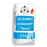 Клей для каминов и печей Сканмикс Тепло (Scanmix TEPLO) (25 кг)