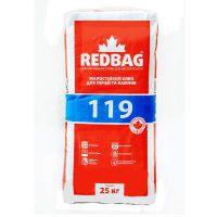 Клей жаростойкий для каминов и печей Редбег 119 (Redbeg 119) (25 кг)