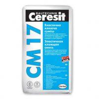 Клей для плитки эластичный Церезит СМ 17 (Ceresit CM 17) (25 кг)
