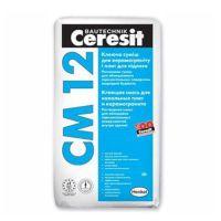 Клей для напольных плит и керамогранита Церезит СМ 12 (Ceresit CM 12) (25 кг)