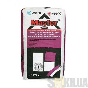 Клей для плитки и керамогранита Мастер Флекс (Master Flex) (25 кг)