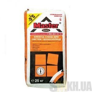 Клей для теплоизоляции Мастер Термол (Master Termol) от -5 С 25 кг (приклеивание)