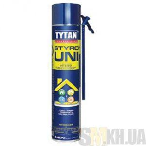 Пена-клей Титан (Tytan Styro) (750 мл) для крепления пенопласта (c трубочкой)