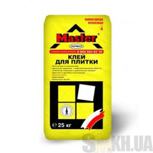 Клей для плитки Мастер Нормал (Master Normal) (25 кг)