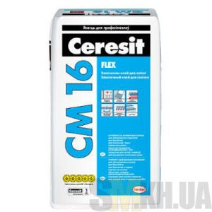 Клей для плитки Церезит СМ 16 (Ceresit CM 16) (25 кг)
