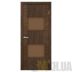 Двери межкомнатные ОМиС «Deco 03» (полотно под остекление, стекло трюфель)
