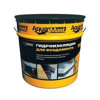 Мастика битумная AquaMast для фундамента (Аквамаст) (10 кг)