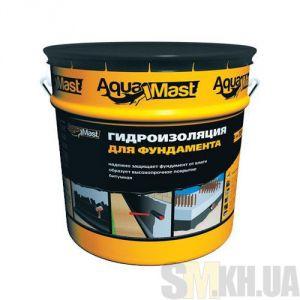 Мастика битумная AquaMast для фундамента (Аквамаст) (18 кг)