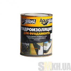Мастика битумная AquaMast для фундамента (Аквамаст) (3 кг)