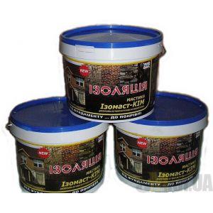 Мастика битумно-каучуковая Изомаст-КИМ (10 кг)