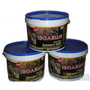 Мастика битумно-каучуковая Изомаст-КИМ (20 кг)