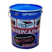 Мастика битумно-каучуковая универсальная Ореол-1 (20 кг)