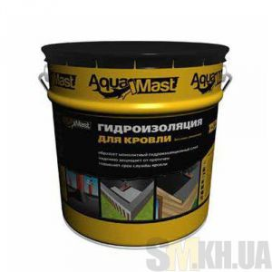 Мастика битумно-резиновая AquaMast для кровли (Аквамаст) (10 кг)