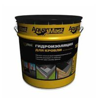 Мастика битумно-резиновая AquaMast для кровли (Аквамаст) (18 кг)