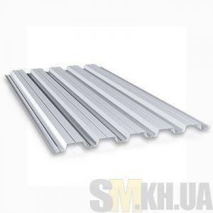 Профнастил стеновой ПС-10 оцинкованный 0.4 мм (кв.м)