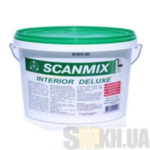 Краска интерьерная дисперсионная Scanmix Interior Deluxe (2,5 л)
