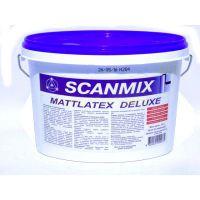 Краска интерьерная латексная Scanmix Mattlatex Deluxe (2,5 л)