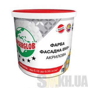 Краска акриловая «Фасад ЭКО+» Ансерглоб (Anserglob) (7 кг)