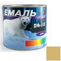 Краска Эмаль ПФ-115 бежевая (2,5 кг)