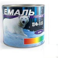 Краска Эмаль ПФ-115 белая (2,5 кг)