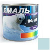 Краска Эмаль ПФ-115 голубая (2,5 кг)