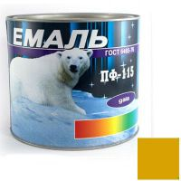 Краска Эмаль ПФ-115 желтая (2,5 кг)
