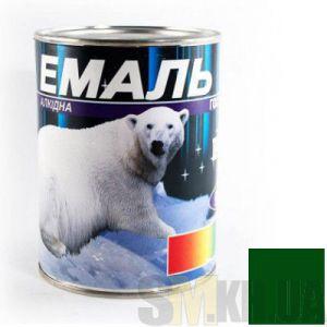 Краска Эмаль ПФ-115 изумрудная (0,9 кг)