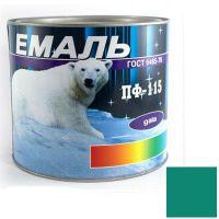 Краска Эмаль ПФ-115 морская волна (2,5 кг)