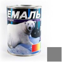 Краска Эмаль ПФ-115 серая (0,9 кг)