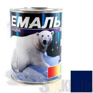 Краска Эмаль ПФ-115 синяя (0,9 кг)