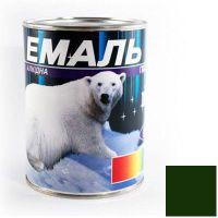 Краска Эмаль ПФ-115 темно-зеленая (0,9 кг)