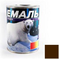 Краска Эмаль ПФ-115 темно-коричневая (0,9 кг)